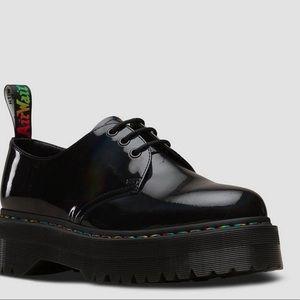 Dr Märtens 1461 Rainbow Patent Black UK10